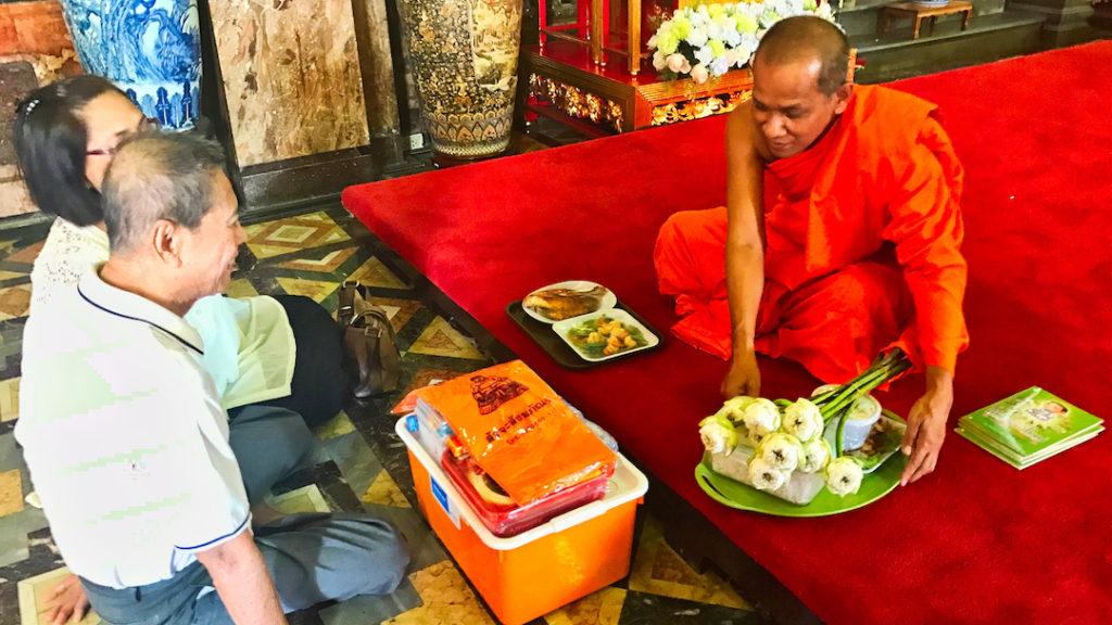 Buddyjski Mnich Bangkok