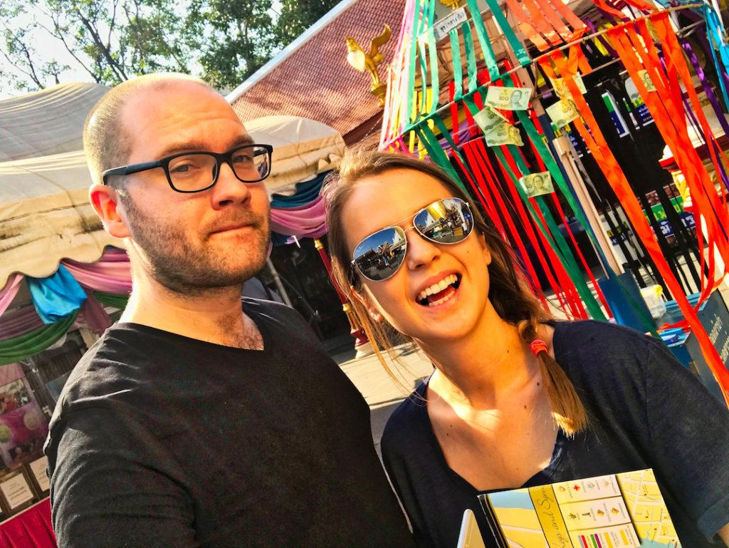 Paweł Zawadzki i Ewelina Antonowicz Bangkok