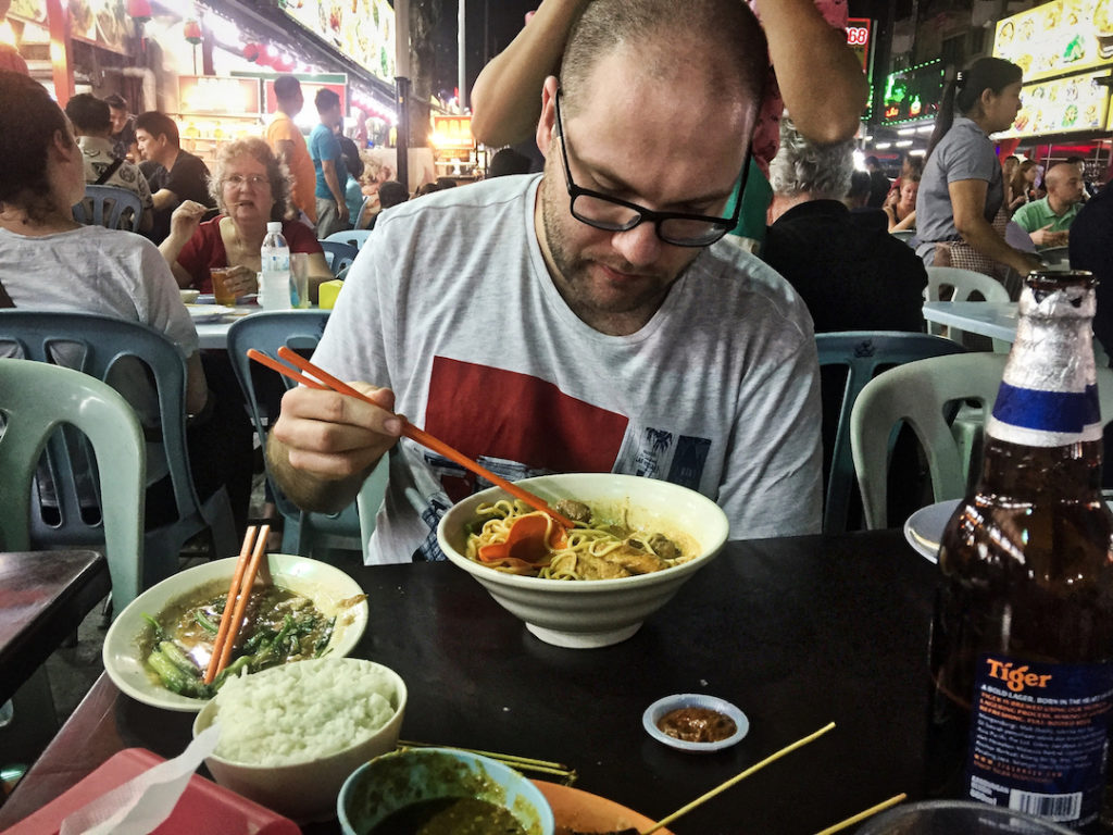 Paweł Zawadzki i Street Food Bangkok