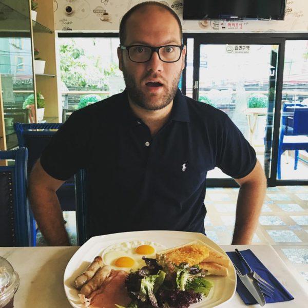 Paweł Zawadzki na Śniadaniu