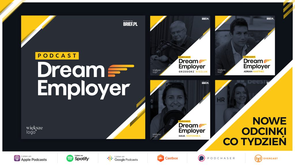 dream employer pawel zawadzki podcast